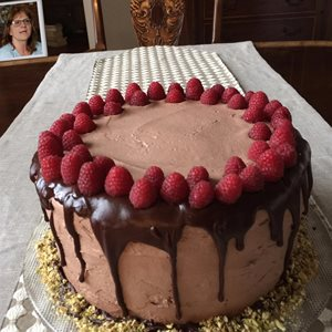 Yummy B-day cake!