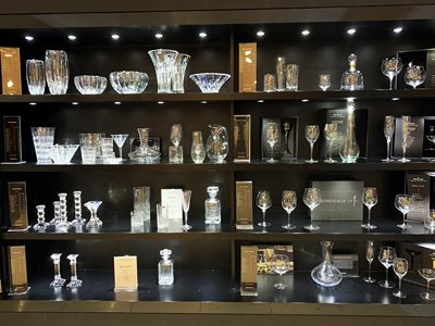 Waterford Crystal Factory Tour in Ireland