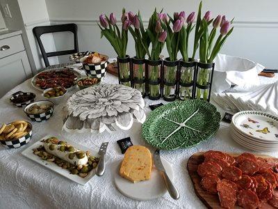 Nice spread