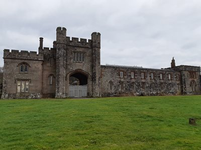 Just the gatehouse, not the actual castle