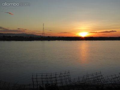 Sunrise across the Mekong